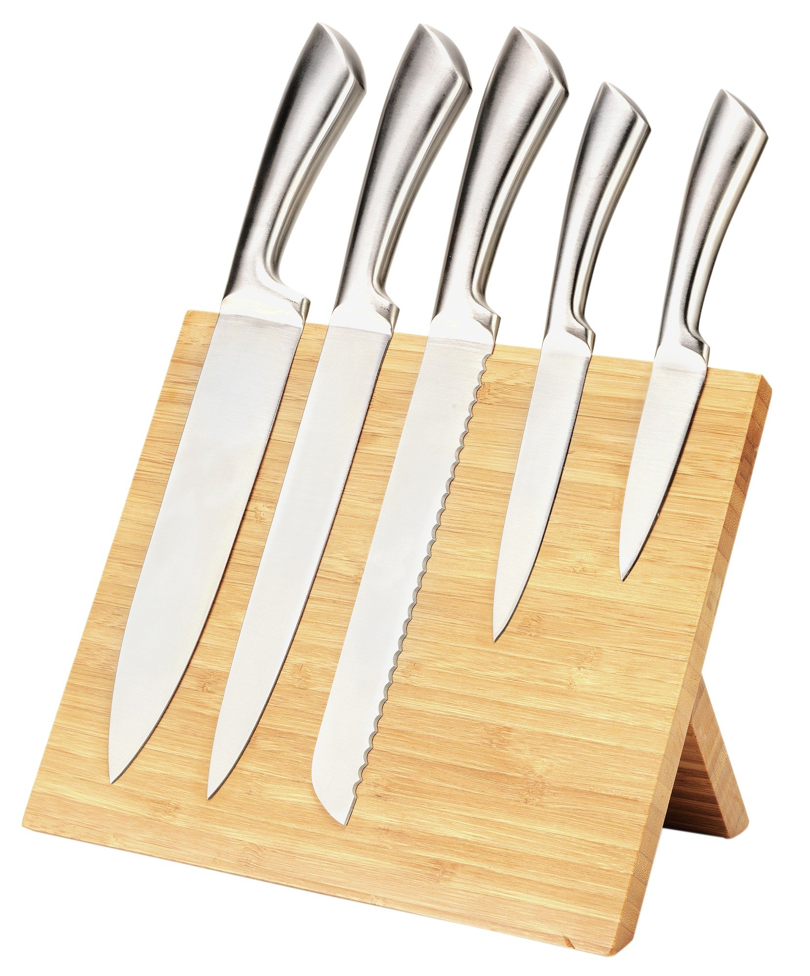 knife block set kitchen knife block sets knife block set home page heart of house magnetic bamboo knife block with 5 knives