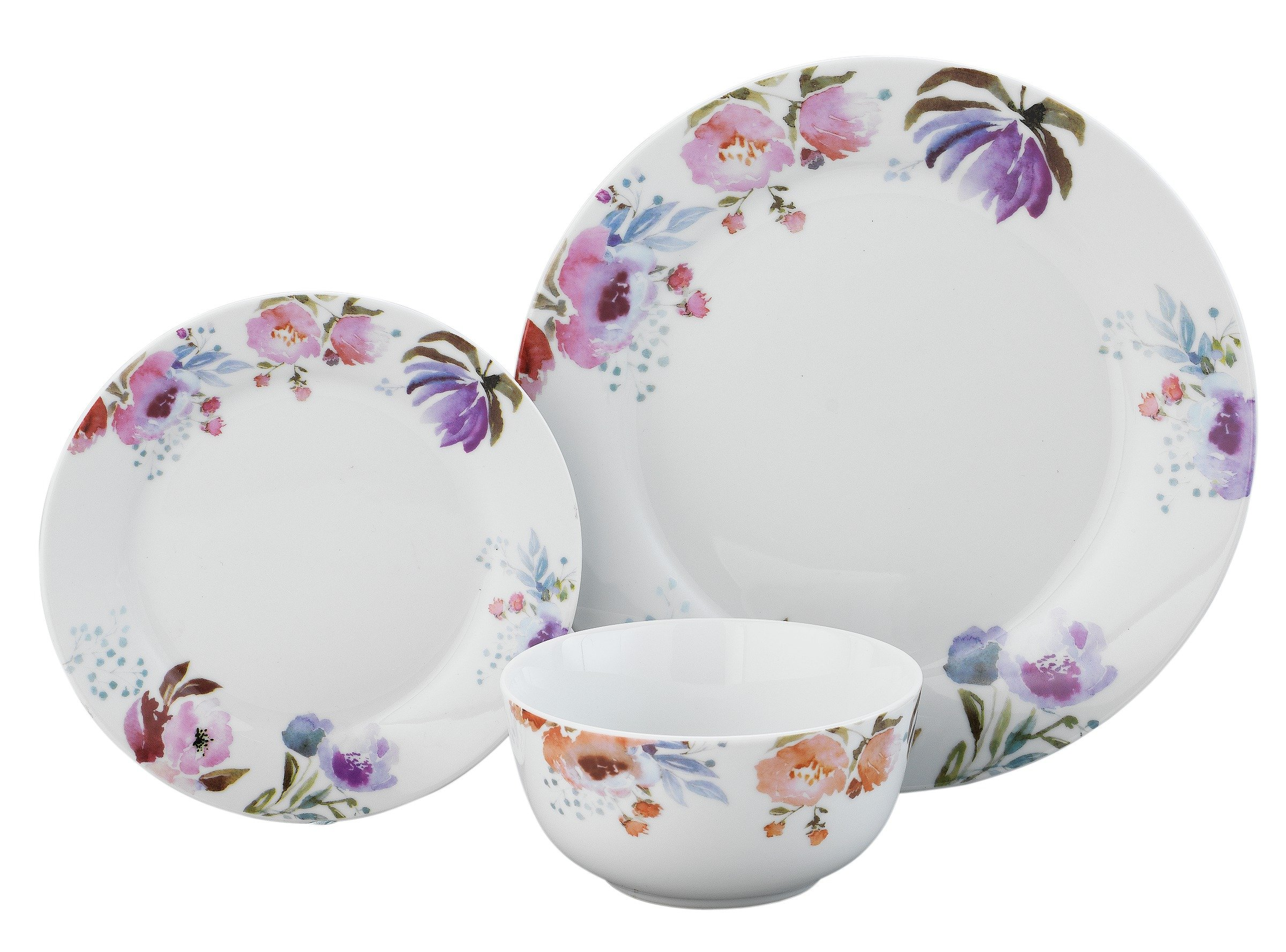 Argos Home 12 Piece Forest Frost Porcelain Dinner Set