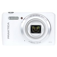 Praktica Z212 20MP 12X Zoom Compact Camera - White