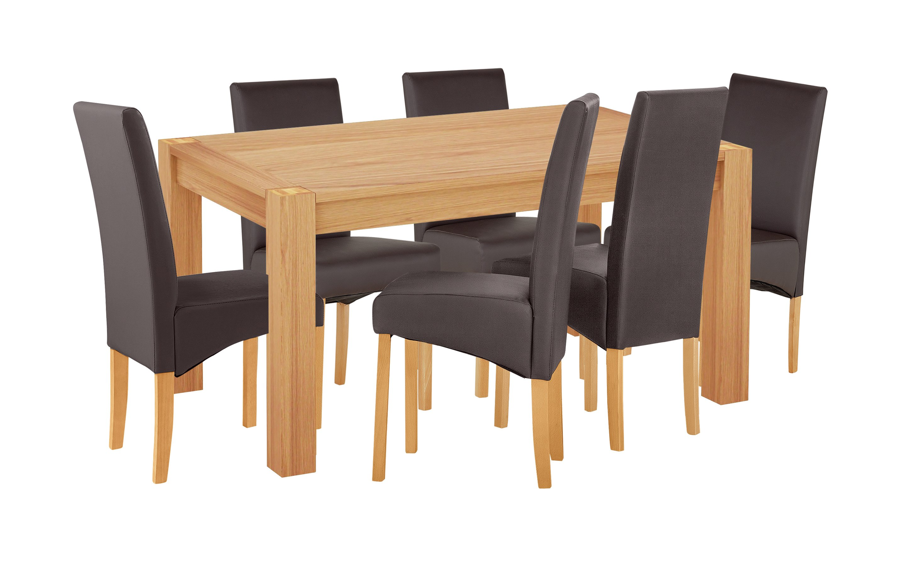 Image of Home of Style Whipsnade Dining Table & 6 Chairs