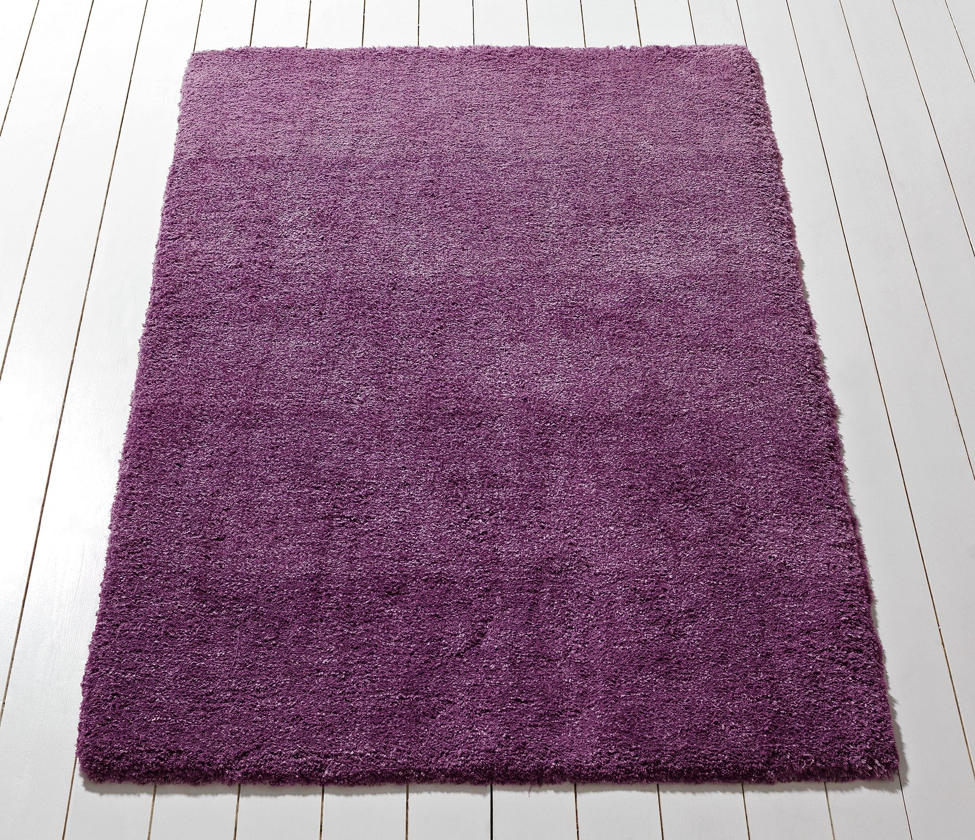 Collection Ombre Supersoft Shaggy Rug - 230x160cm - Plum