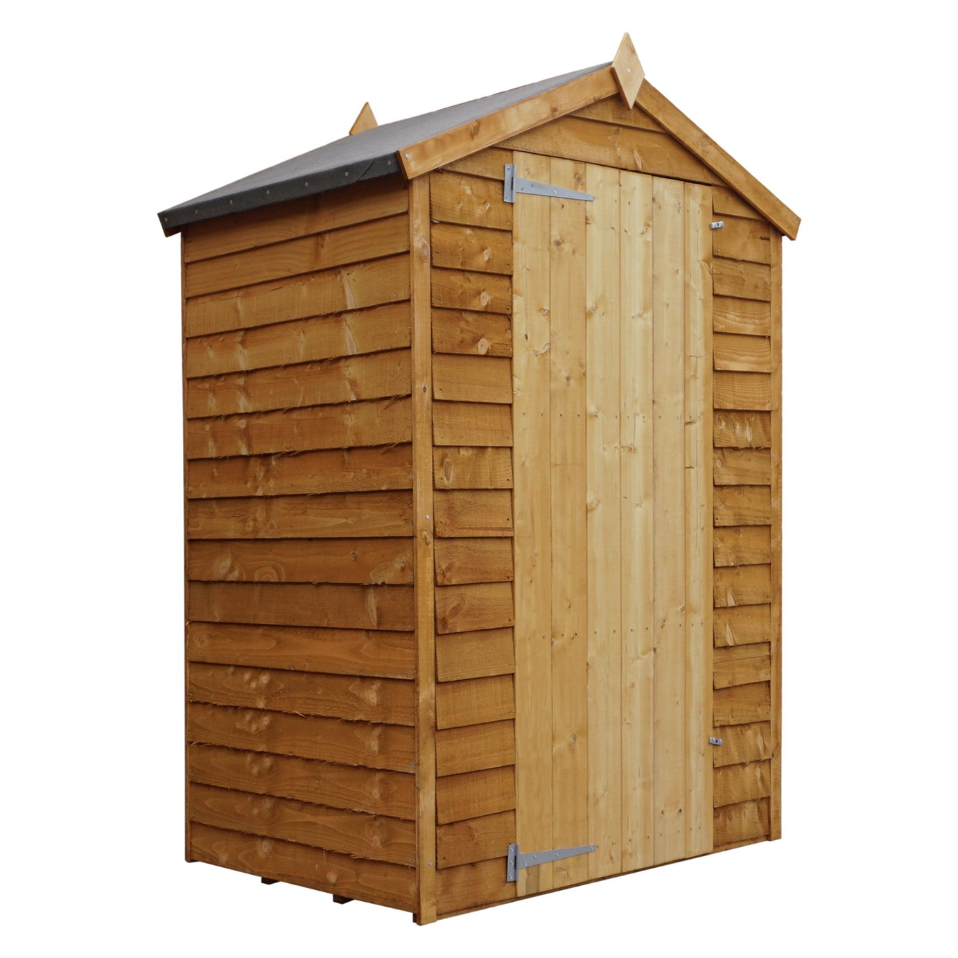 Mercia Wooden 4 x 3ft Overlap Windowless Shed