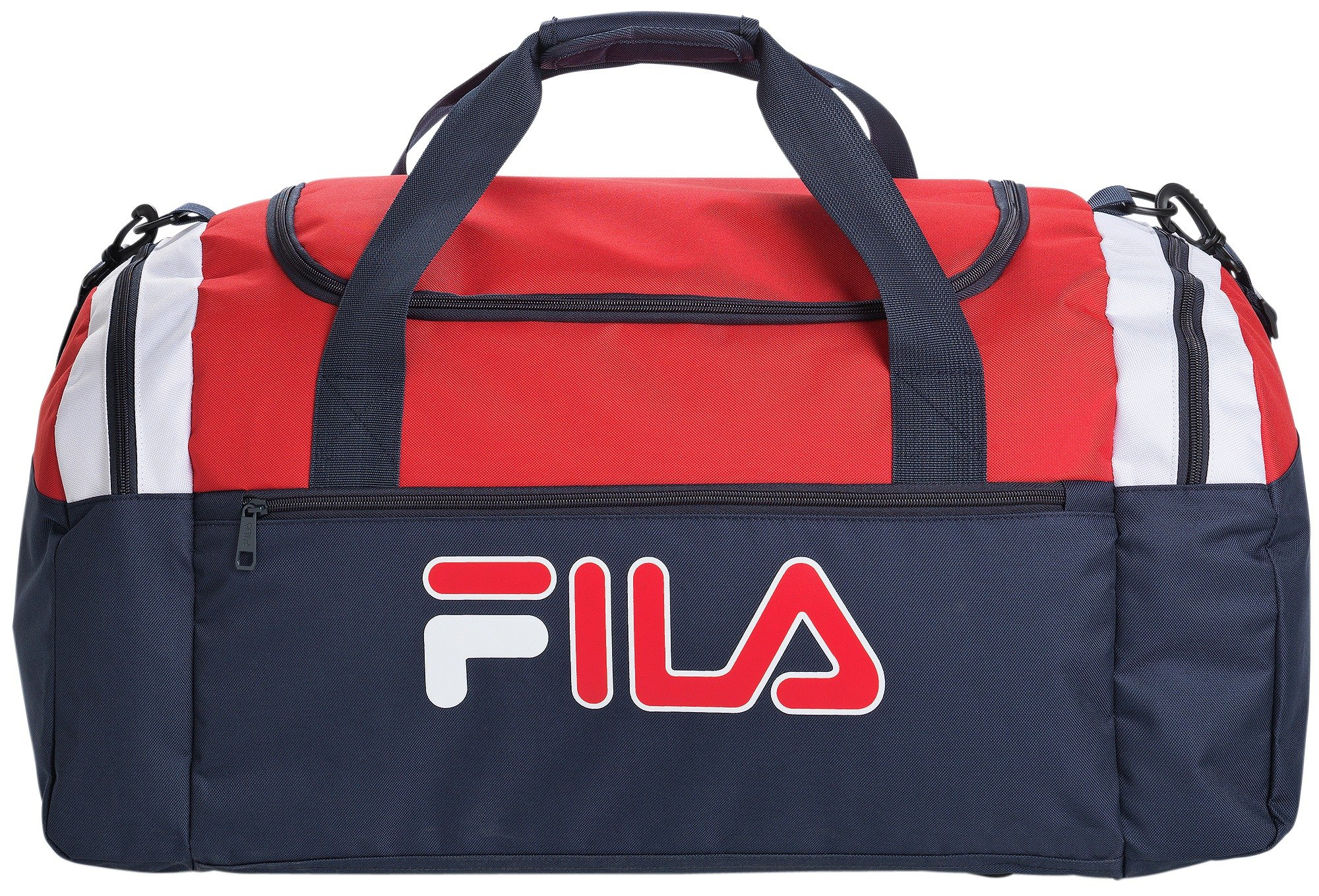 FILA Large Holdall - Navy/Red