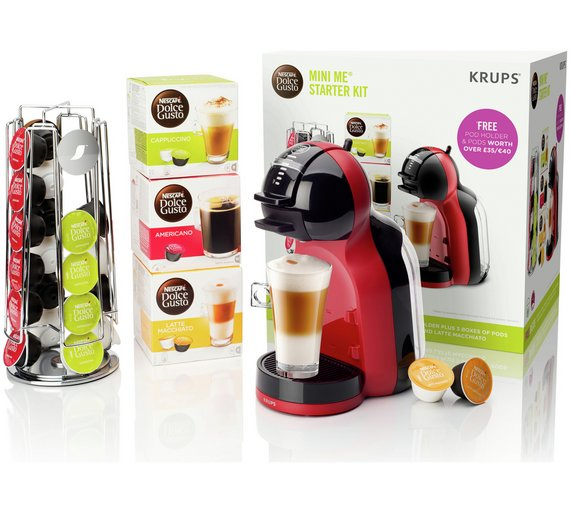 buy nescafe dolce gusto mini me coffee starter kit at. Black Bedroom Furniture Sets. Home Design Ideas
