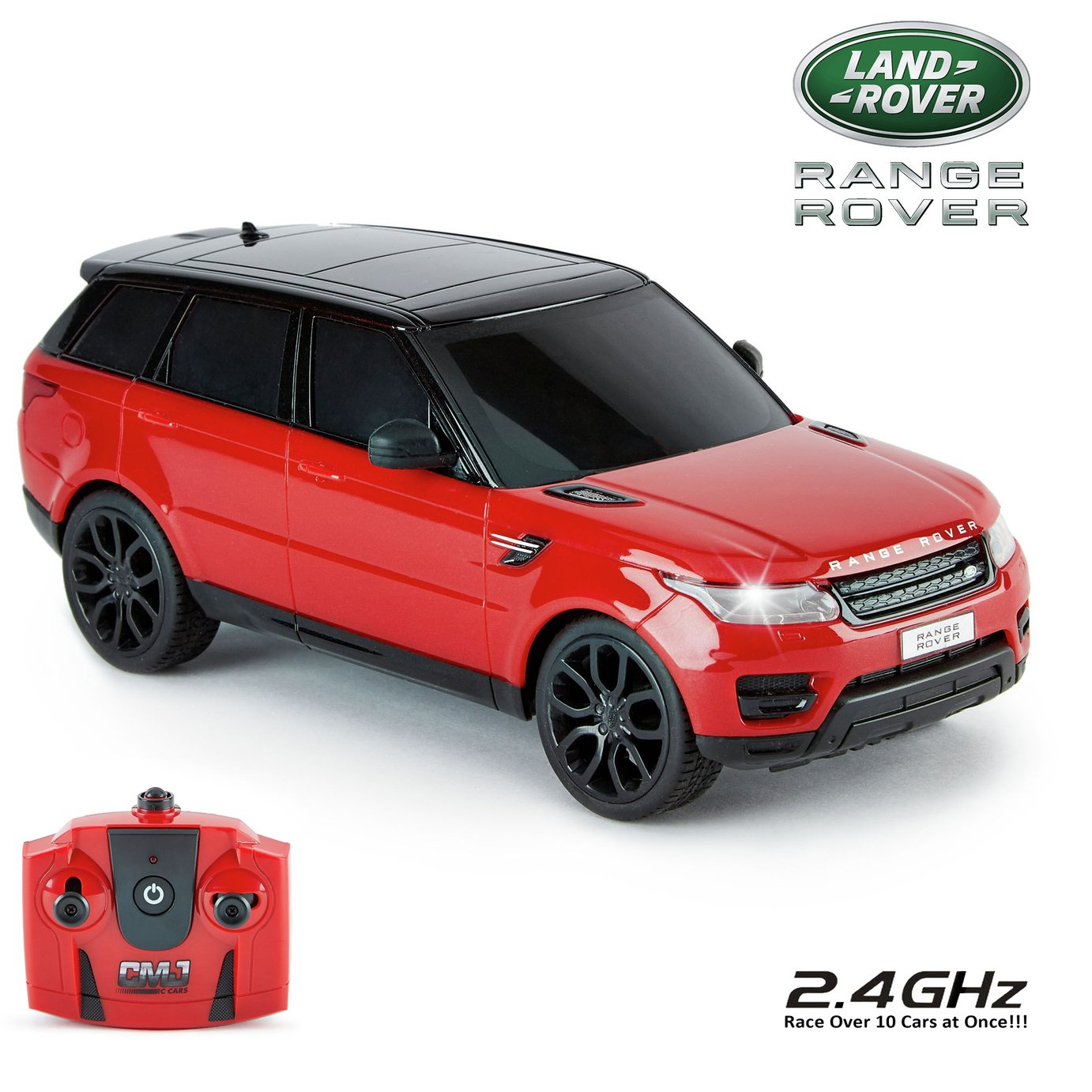 Range Rover Sport Remote Control Car 1:24 Red 2.4Ghz