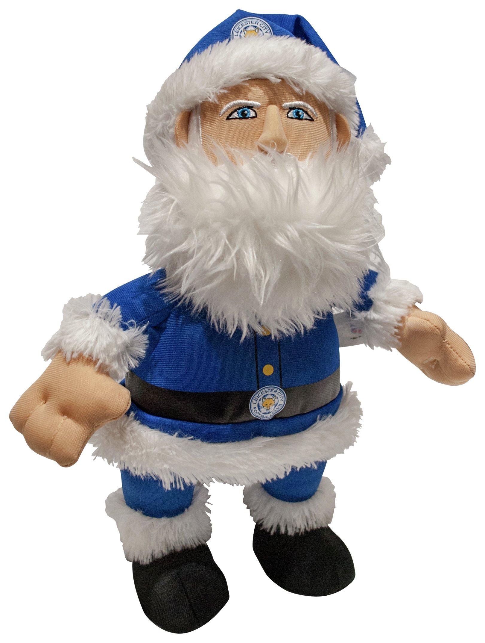 Image of Bleacher Creatures Leicester City FC Santa 10 Inch Plush.