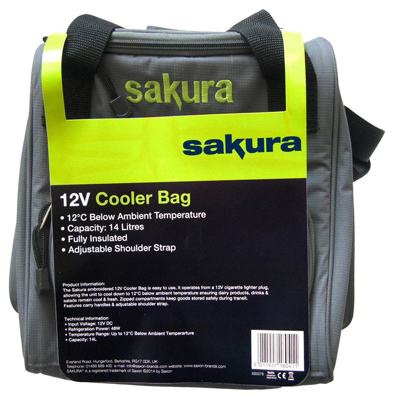 12 Volt Cooler Bag.