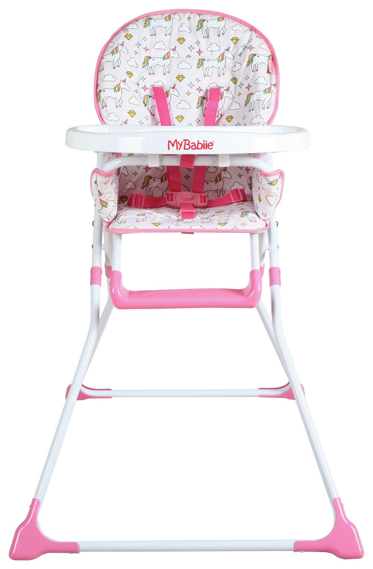 My Babiie MBHC1UN Unicorn Highchair