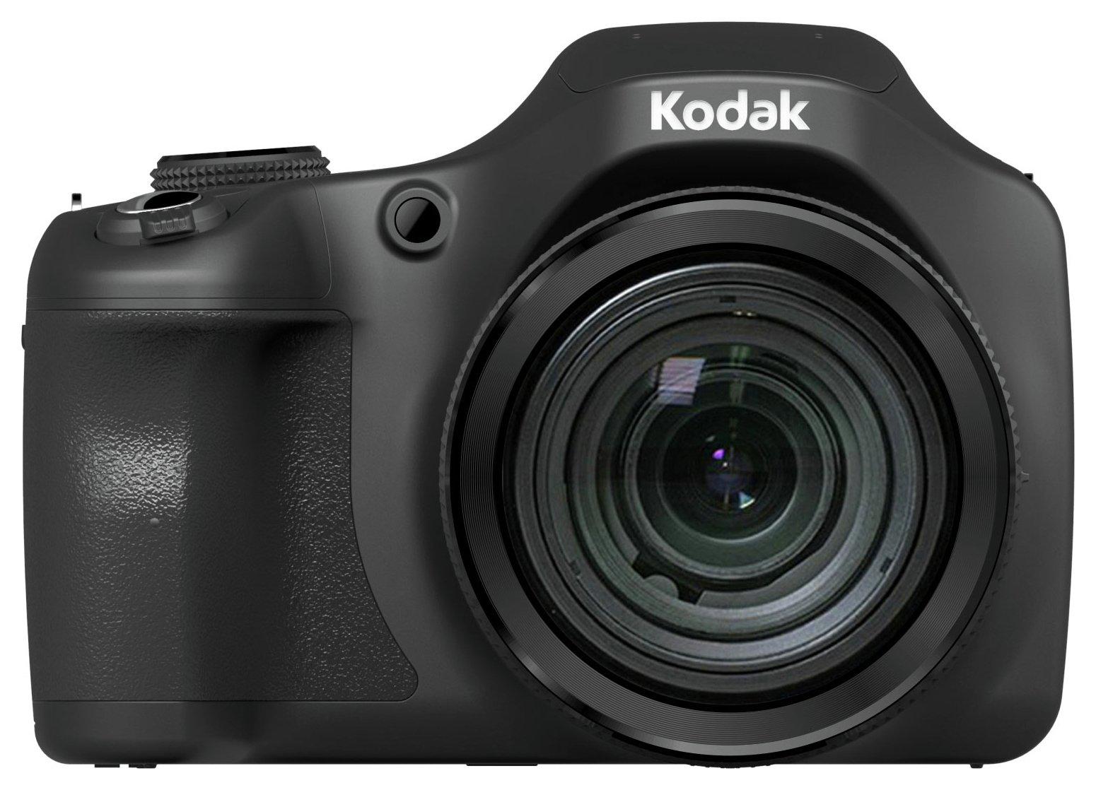 Kodak Pixpro AZ652 20MP 65x Zoom Bridge Camera - Black