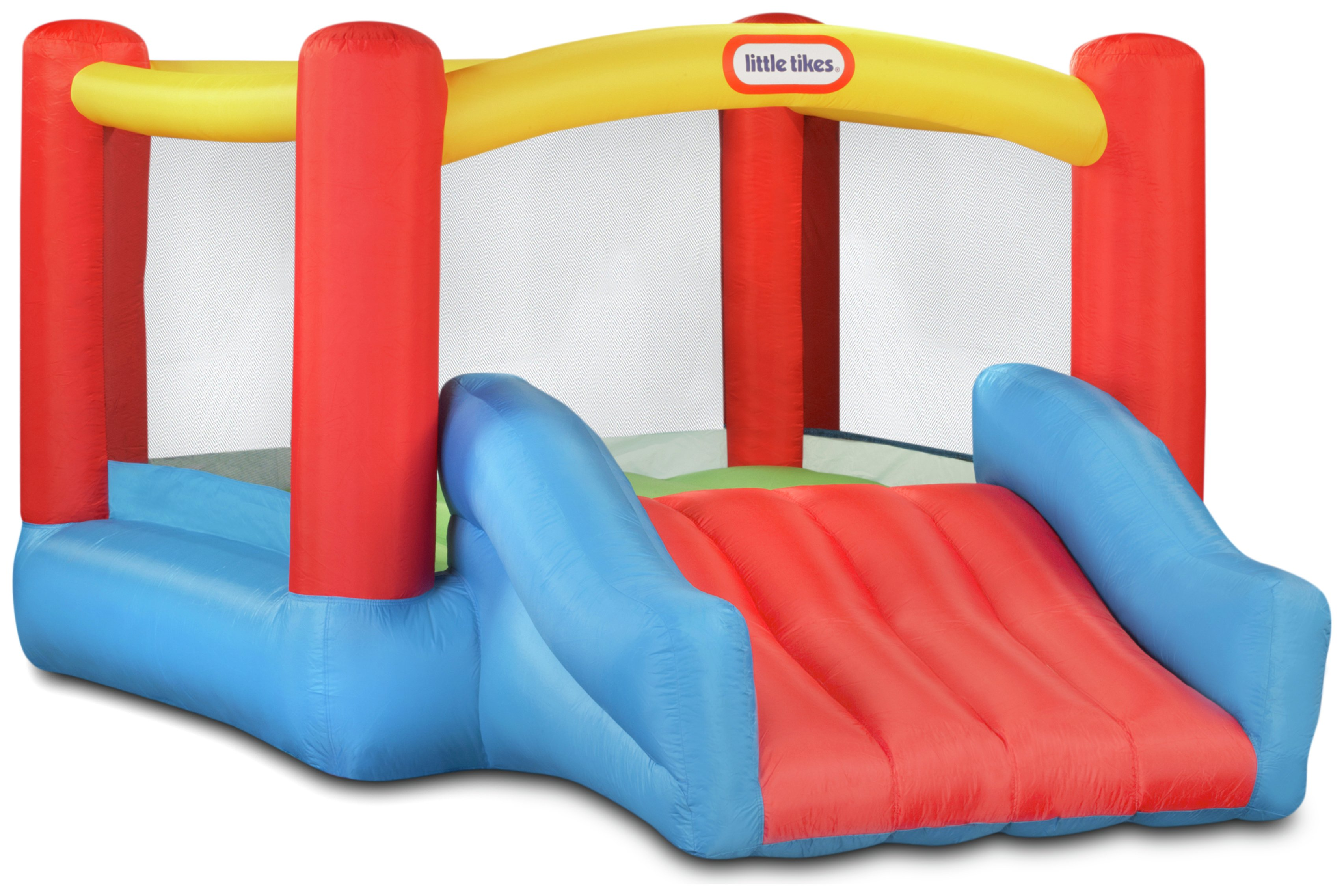 Little Tikes Jr. Jump 'n Slide Bouncer.