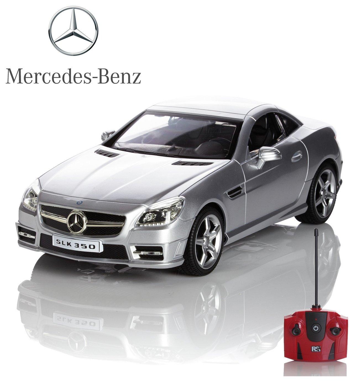 Mercedes SLK 1:24 Remote Control Car   Silver.