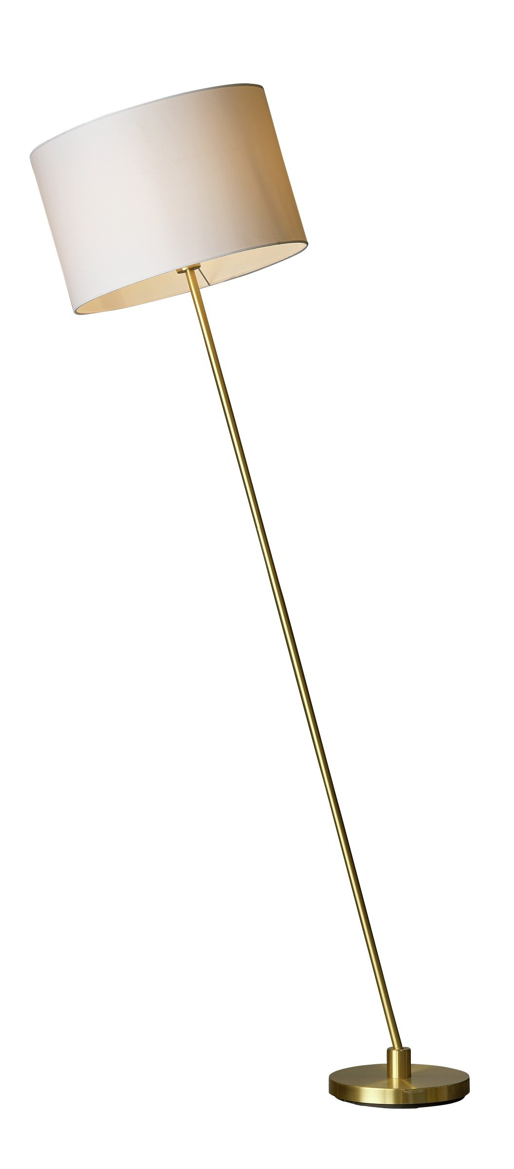 Heart of House Athena Brass Leaning Floor Lamp