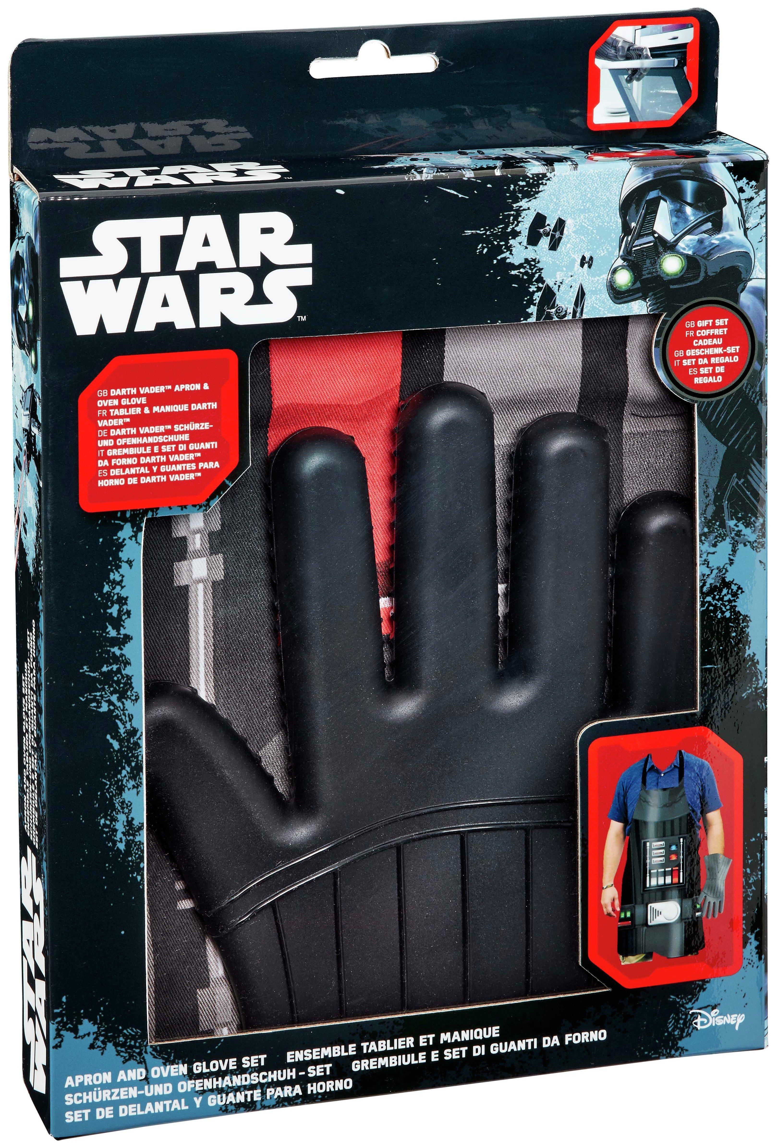 Image of Star Wars Darth Vader Apron & Oven Glove