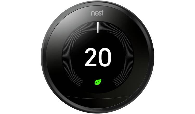 Google Nest Learning Thermostat 3rd Generation - Black