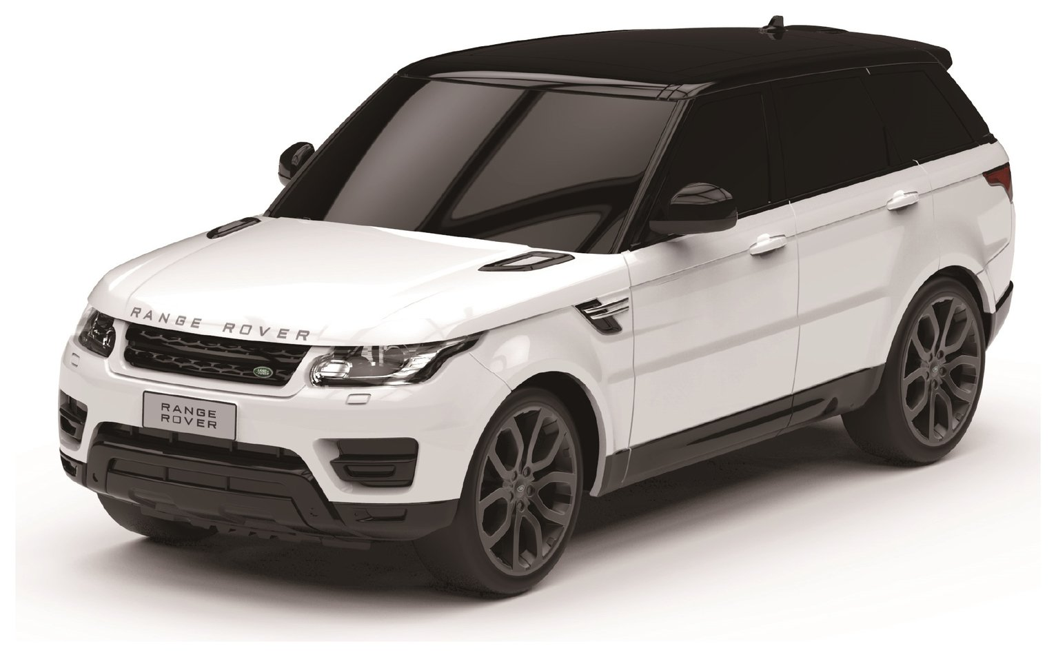 Range Rover Sport Remote Control Car 1:24 White 2.4Ghz