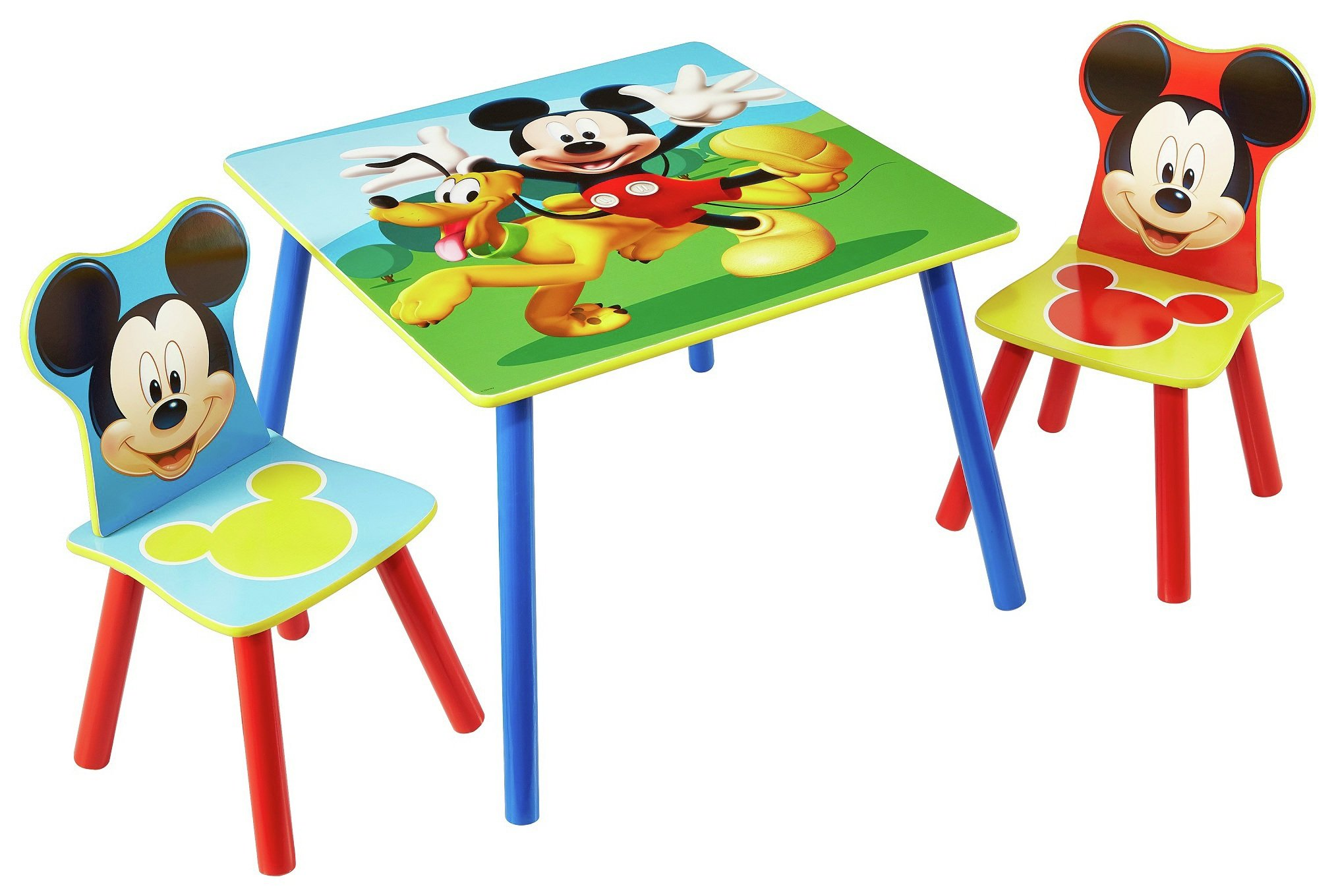 Image of Disney Mickey Mouse Table and 2 Chairs