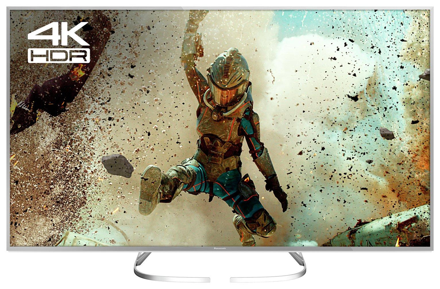 Panasonic 50TX-50EX700B 50 Inch Smart 4K UHD TV with HDR.
