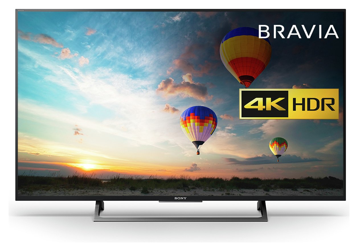 Sony 49 Inch KD49XE8004BU Smart 4K UHD TV with HDR