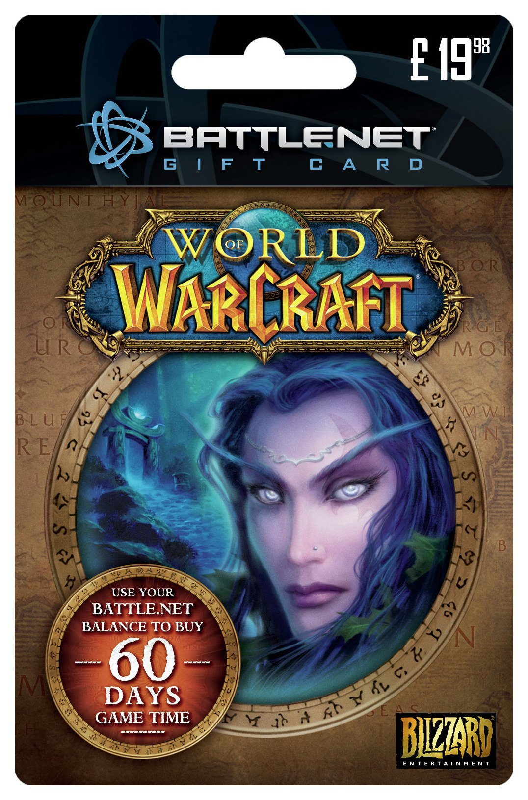 Buy Blizzard 60 Days Online Play Time Card Pc Gaming Accessories
