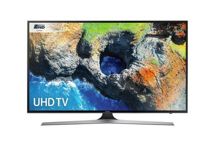 Samsung 50MU6120 50 Inch 4K UHD Smart TV with HDR.