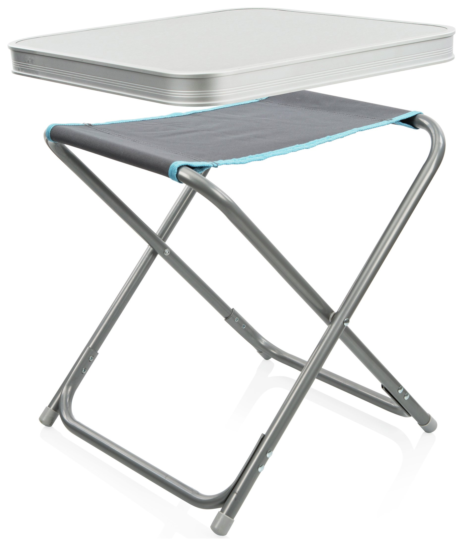 Image of Campart Travel Folding Fishing Chair and Removable Table