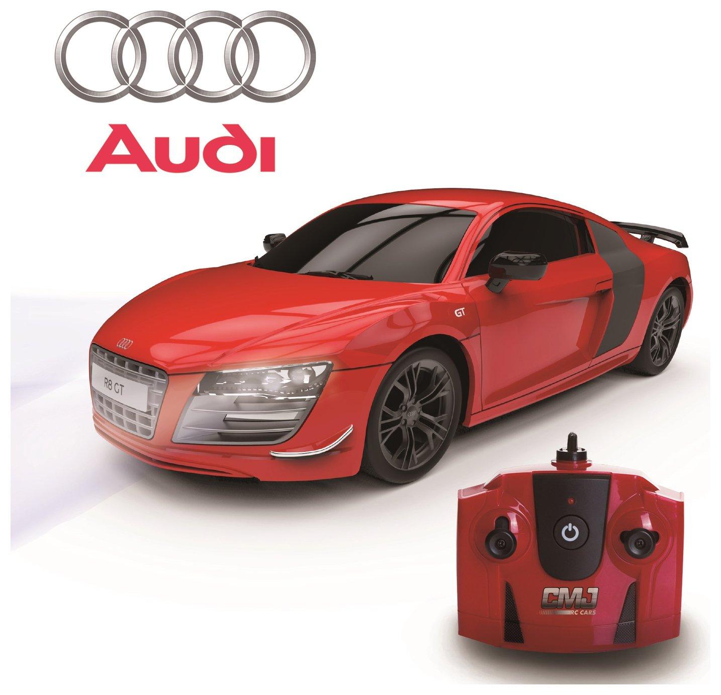 Audi R8 GT Remote Control Car 1:24 Red 2.4Ghz