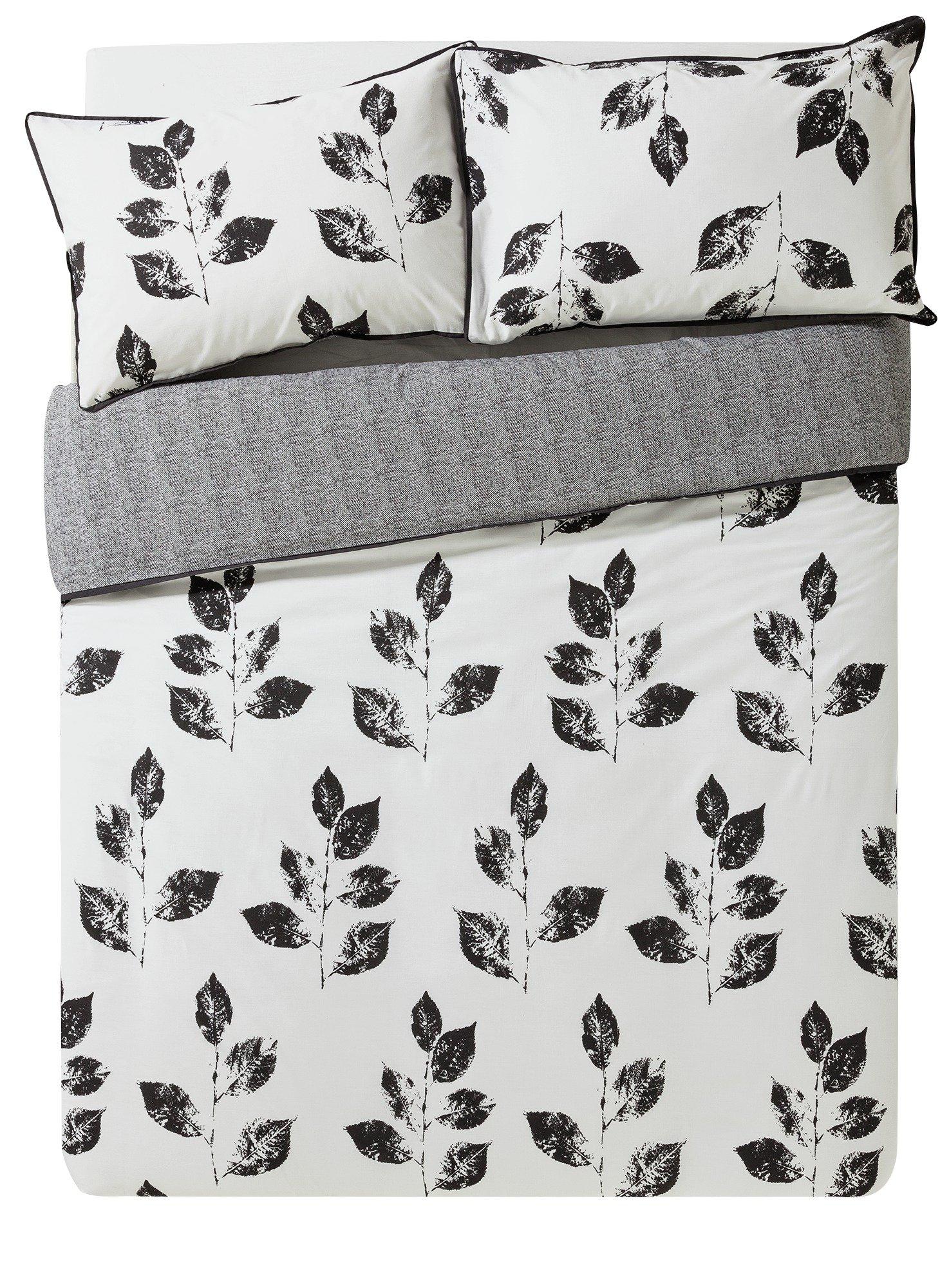 Argos Home Artisan Leaf Bedding Set - Kingsize
