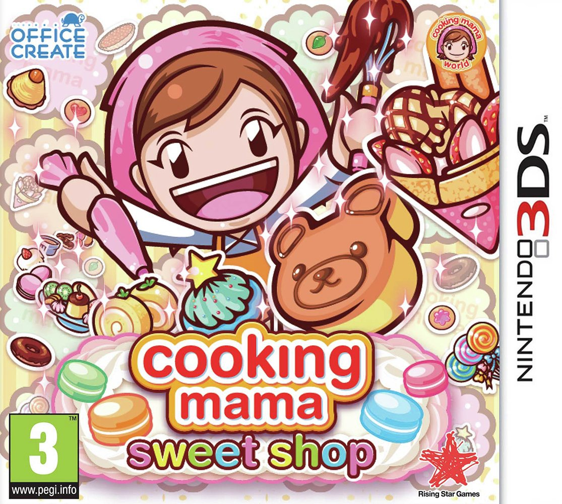 Image of Cooking Mama: Sweet Shop 3DS Game