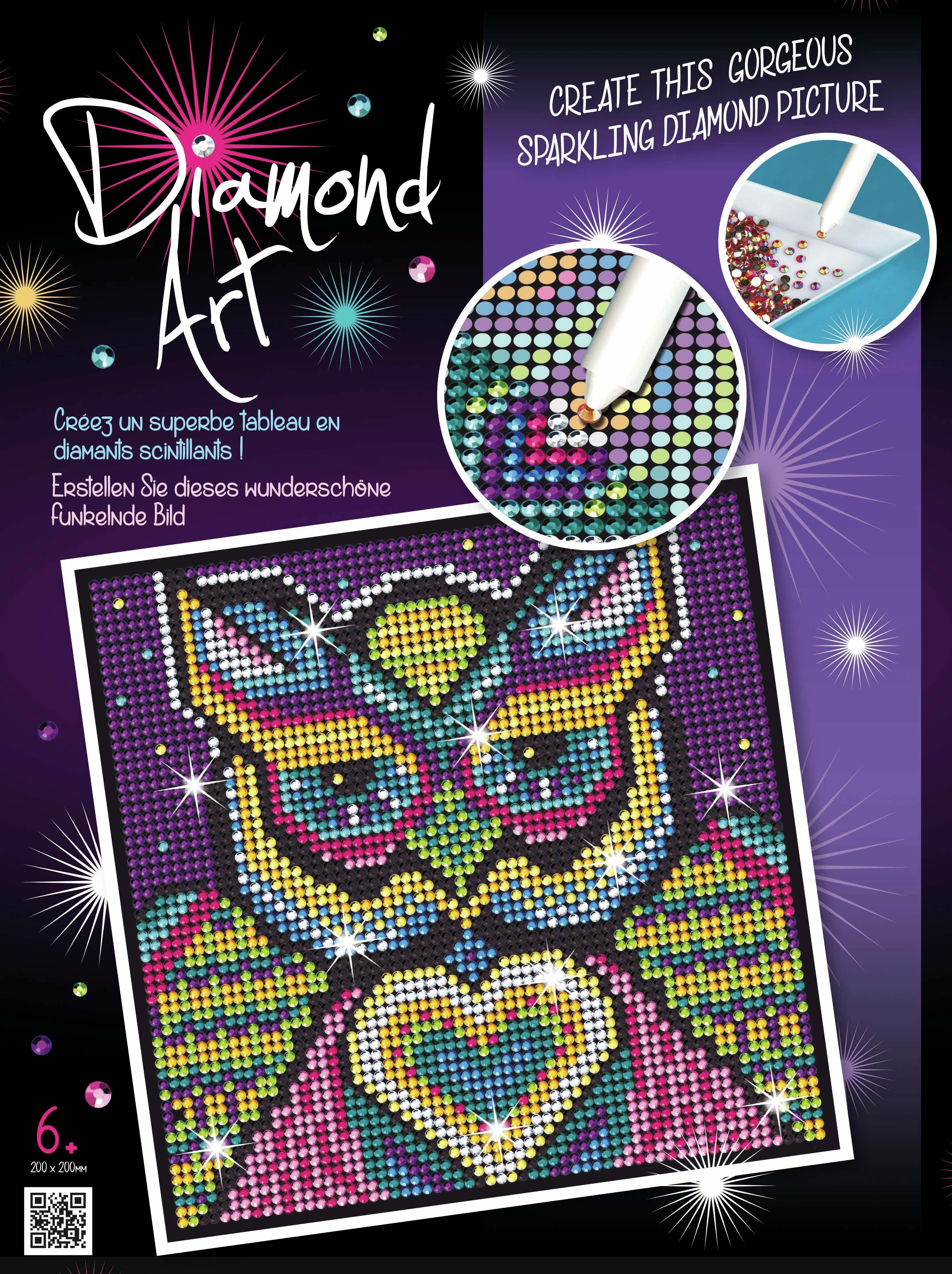 Sequin Art Diamond Art Kit - Owl.