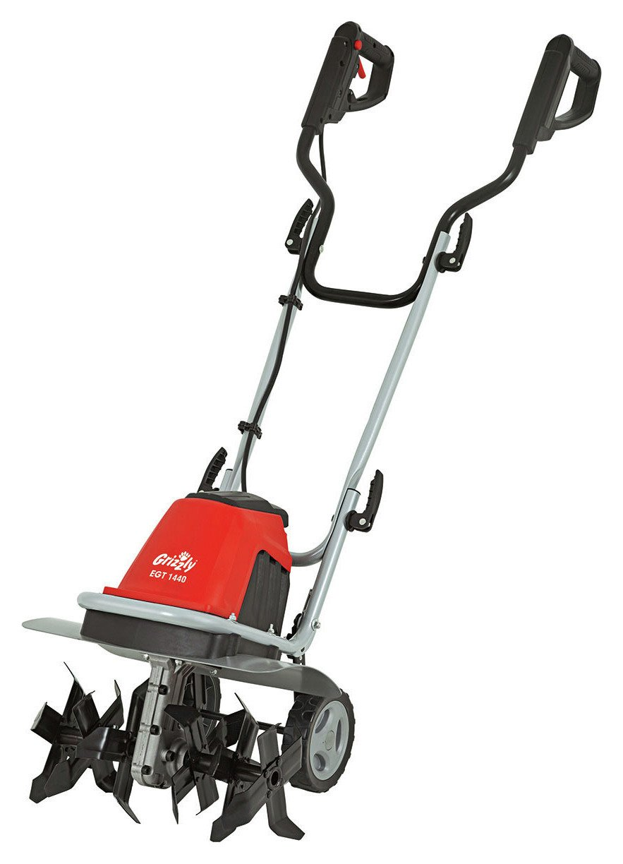 Image of Grizzly Tools 1400W Electric Garden Rotovator.