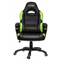 Nitro Concepts C80 Comfort Gaming Chair - Black / Green.
