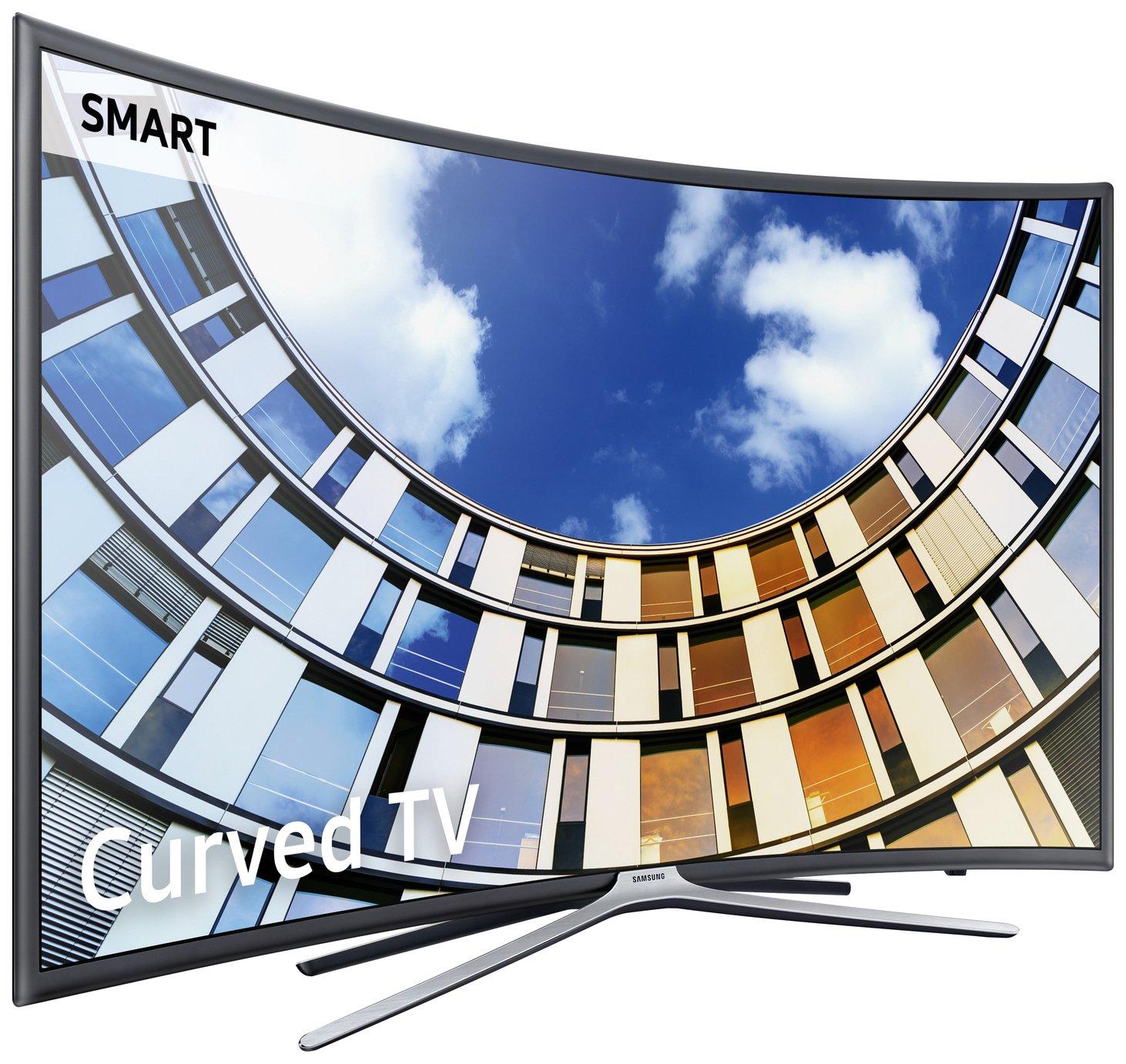Samsung Samsung 55M6320 55 Inch Curved Full HD Smart TV