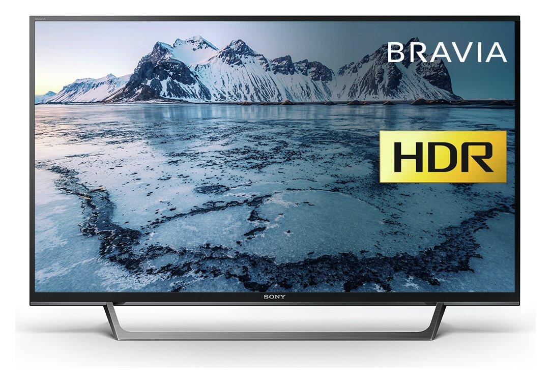 sony 40 inch flat screen tv. sony kdl40we663bu 40 inch smart full hd tv with hdr flat screen tv