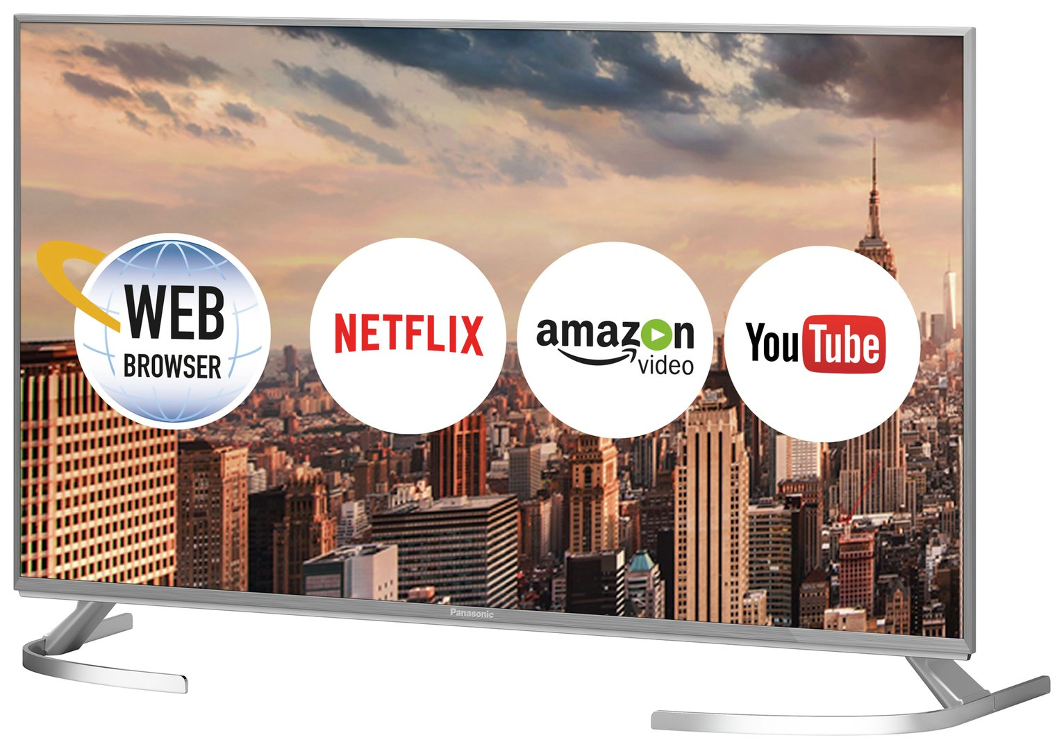Panasonic 40TX-40EX700B 40 Inch Smart 4K UHD TV with HDR.