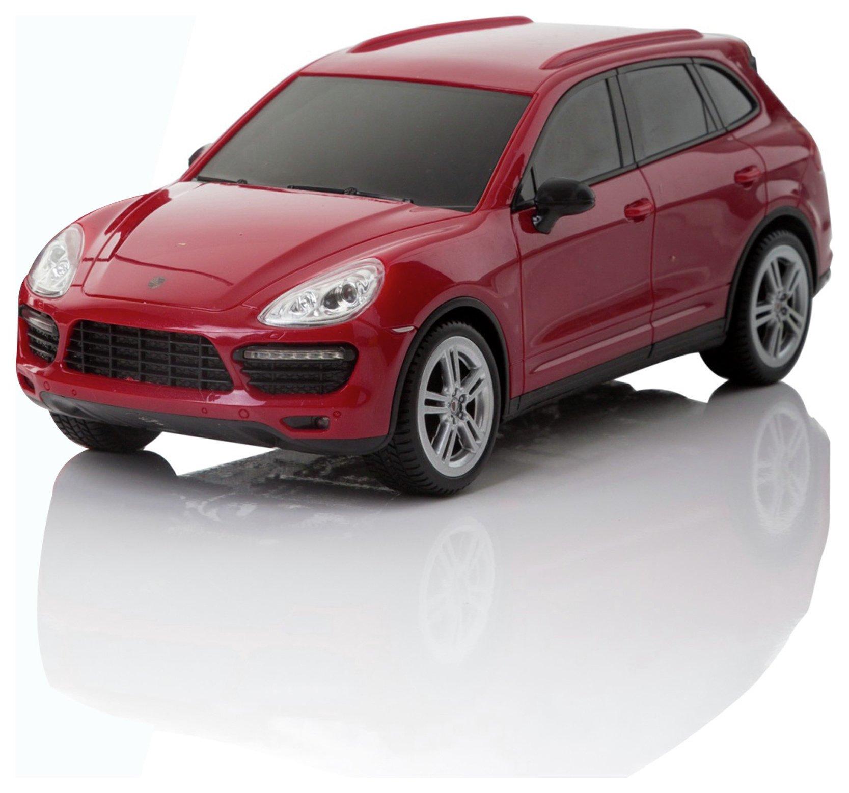Porsche Cayenne 1:24 Remote Control Car - Red.