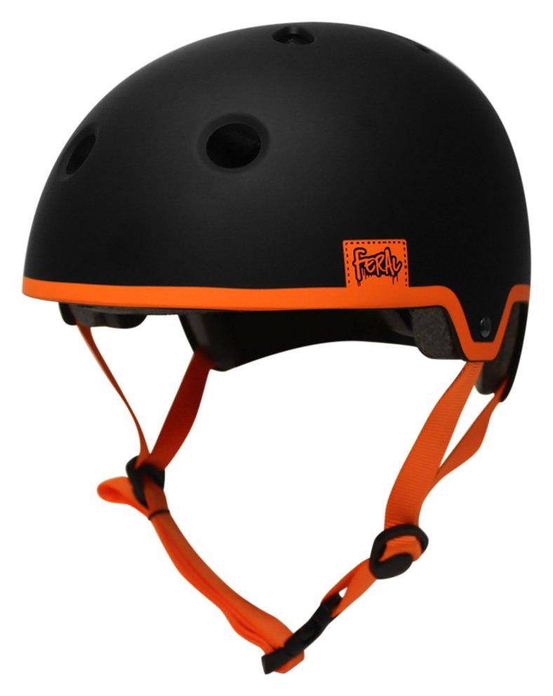 Image of Feral 55-58cm Bike Helmet - Black & Orange