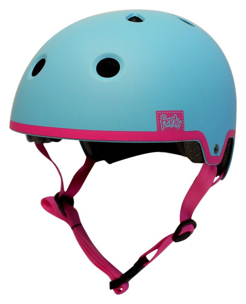 Image of Feral 55-58cm Bike Helmet - Blue & Pink