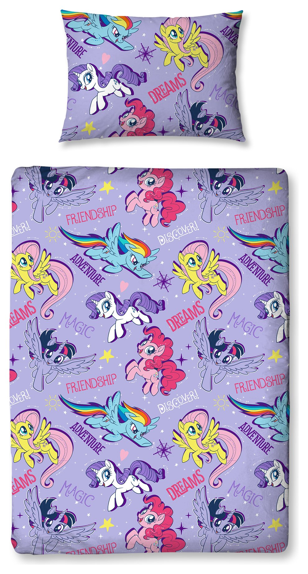 My Little Pony Adventure Bed in a Bag Set - Toddler.