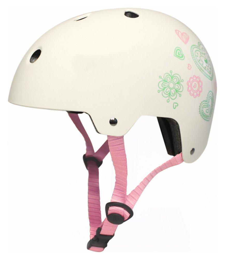 Kingston Soul 55-58cm Ladies Bike Helmet - Cream.
