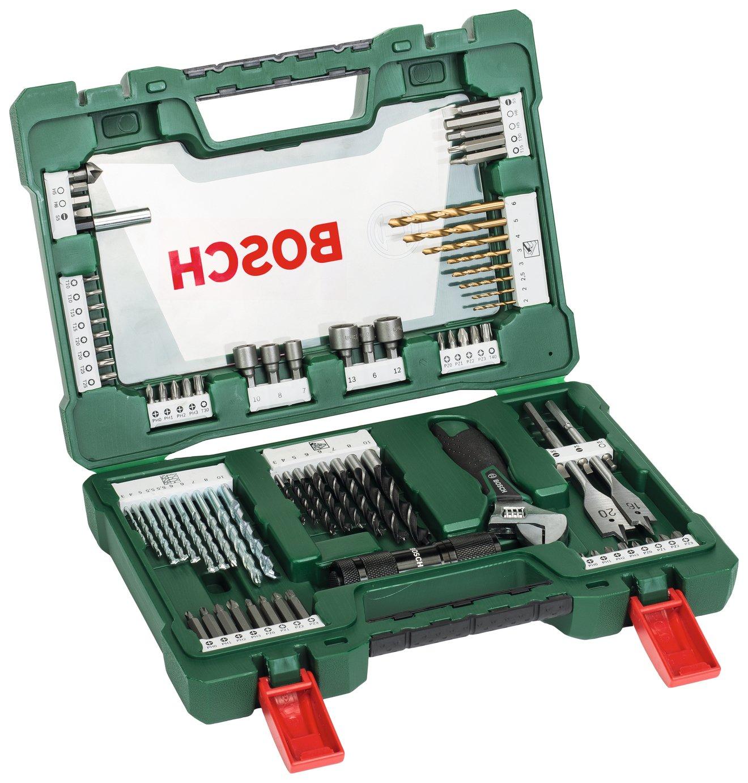 Image of Bosch 83 Piece V-Line Drill & Screwdriver Bit Set