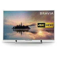 Sony KD43XE7073SU 20'' 4K Ultra HD Silver LCD TV with HDR