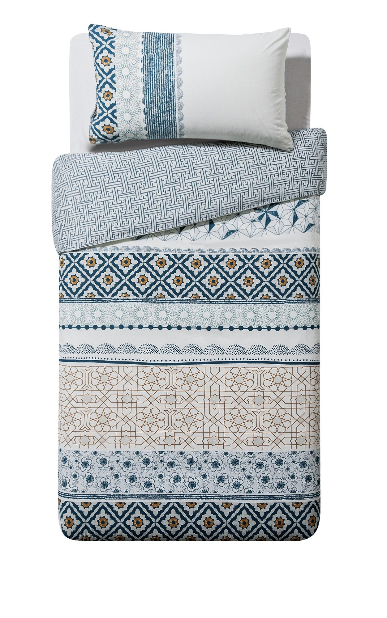 HOME Global Patchwork Bedding Set - Single