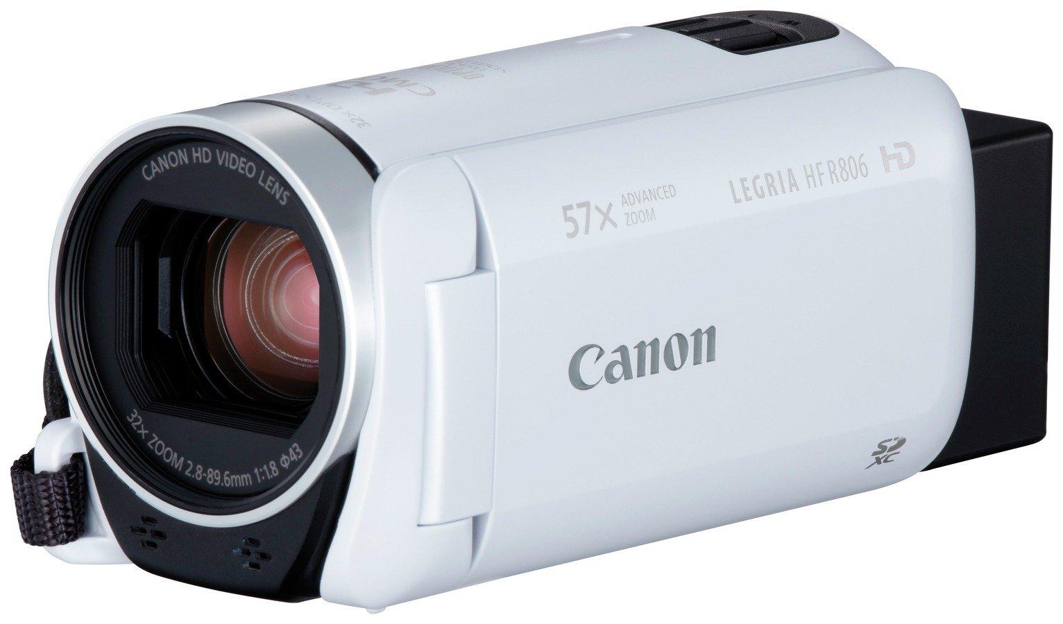 Canon Legria HF R806 Camcorder - White