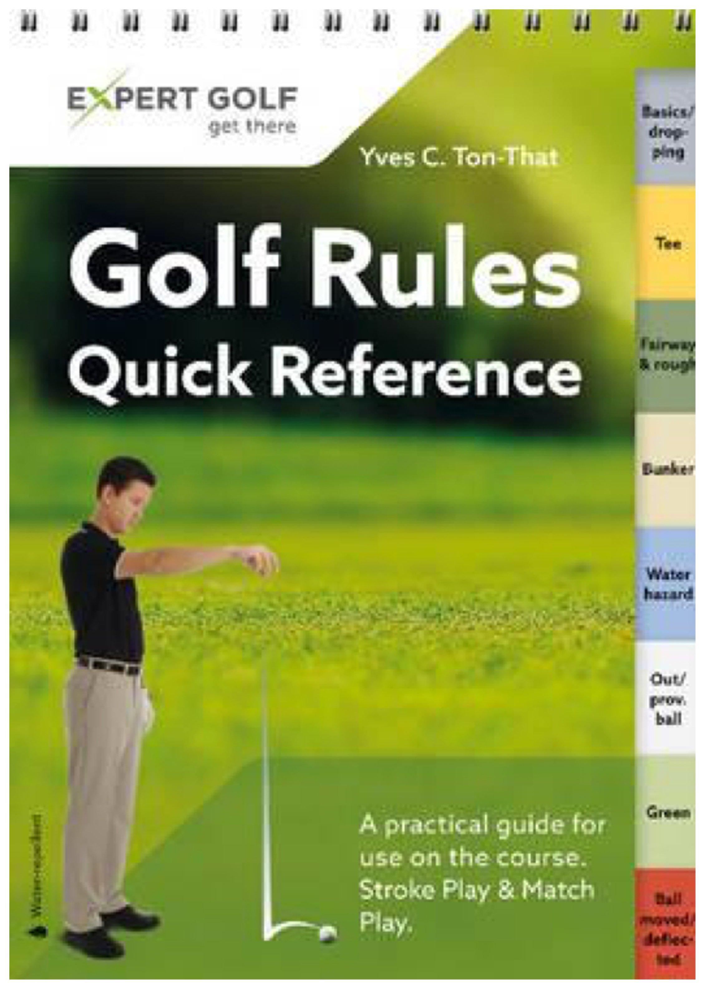 Golf Rules Multi Award Winning Book