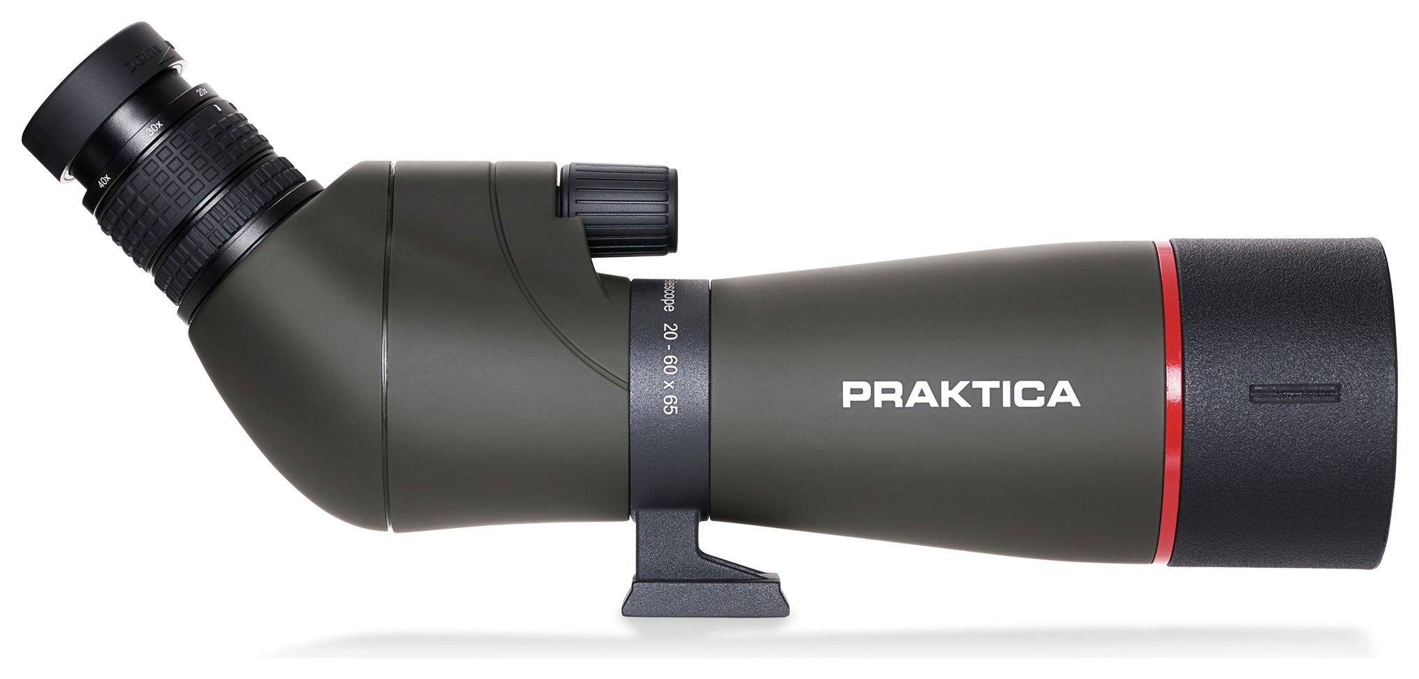 Praktica Alder 20-60 x 65mm Spotting Scope Kit.