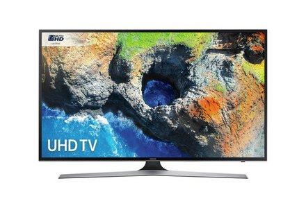 Samsung 40MU6120 40 Inch 4K UHD Smart TV with HDR.