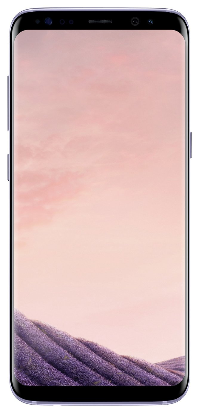 SIM Free Samsung Galaxy S8 64GB Mobile Phone - Orchid Grey