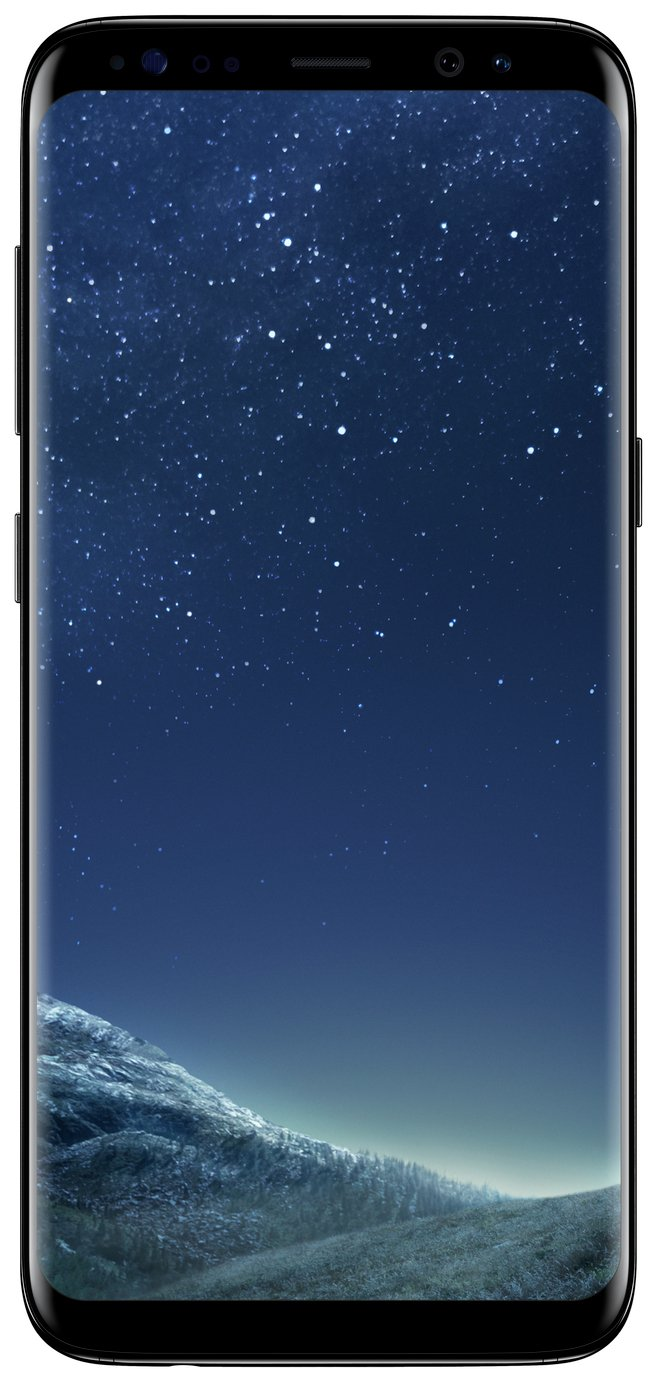 Image of Sim Free Samsung Galaxy S8 64GB - Midnight Black
