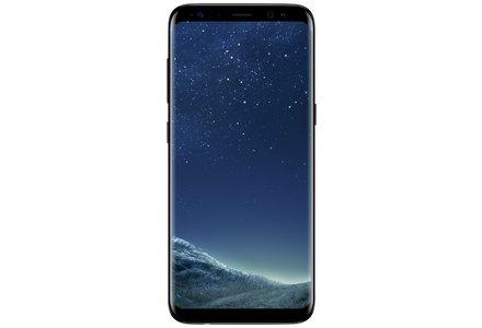 Sim Free Samsung Galaxy S8 Mobile Phone - Midnight Black.