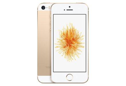 Sim Free Apple iPhone SE 32GB Mobile Phone - Gold.
